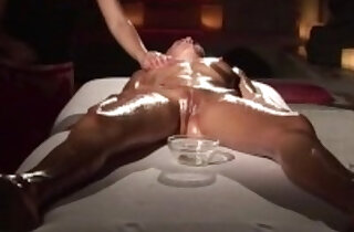 blonde Girl gets multiple orgasm massage - 20:10