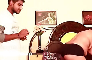 Hot bhabhi massage and romace with brother in law hot boobs show nip almost out hot new - 8:46