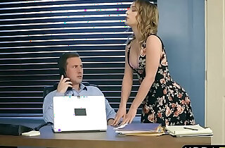 Intern fucks his MILF bosses stepdaughter and her too - 7:13