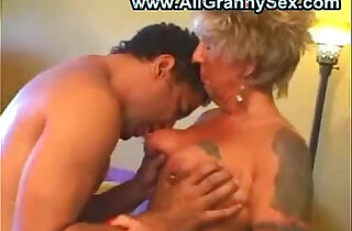 German Granny gets Fucked - 14:42