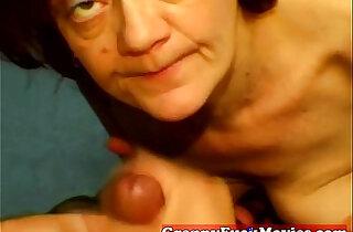 Amateur granny slut does POV - 5:17