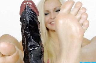 Beautiful blonde Angel sexy feet - 5:06