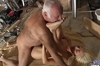 Horny Assistent fucked by old man in old young porn cumshot facial blowjob - 7:09