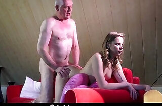 Experienced young escort ass rimming in the craziest fuck with old man - 6:44