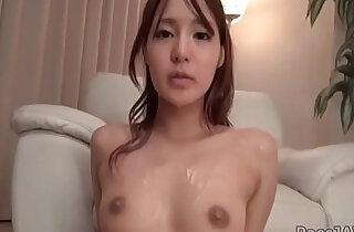 Yukina Momota on her knees swallowing a large jock - 5:37