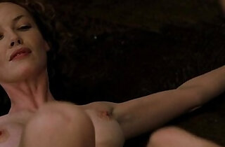 Connie Nielsen Charlize Theron in Devils Advocate 1997 - 2:22