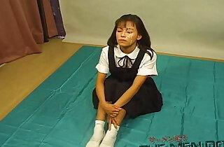 Bukkake Highschool Lesson Japanese uncensored blowjob - 13:50