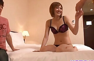 Kaori gets ready for solo girl play - 8:57