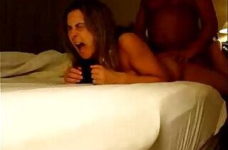 MILF gets anal orgasm during bedside hotel fuck - 2:09