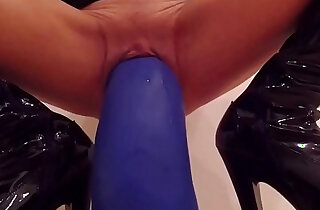 Fetish with curvy huge dildos - 7:22