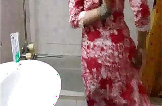 indian babe meenal sood in selfshot shower video stripping naked and exposing - 5:52