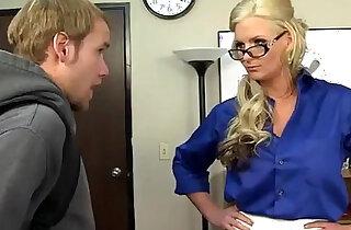 Blonde teacher like a anal sex - 8:12