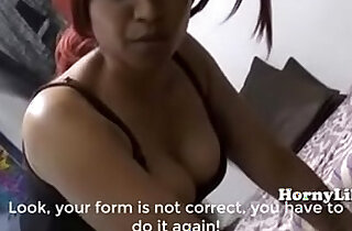 Horny Lily Mom Son Special Training Classes in Hindi English - 22:09