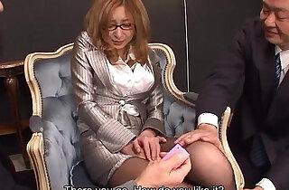 Boss man erupting on her face after fuck - 1:13