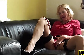 Squirting brit granny throatfucked - 11:09