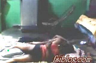 Village girl lying on floor with her neighbor - 7:06
