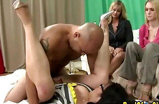 Cfnm amateur femdoms fuck and cumshot - 5:43