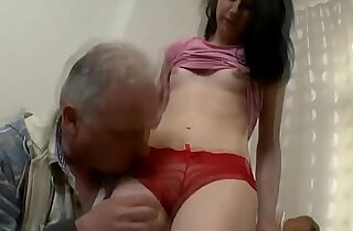 Old chap eats young cum hole - 6:03