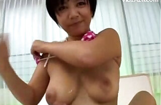 Busty office Girl In Pink Lingerie Sucking my Cock With round big Tits Cum To Tits On The Bed - 9:11