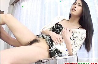 Brunette,Kyoka Ishiguro, endures dick in her tight vag - 13:45