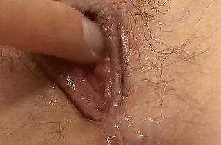 Naughty Rika has pretty hard nipples and a soaking wet pussy - 5:34
