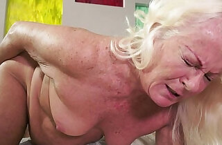 Hot granny and her much younger girlfriend - 5:36