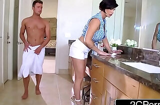 Mature Stepmom Shay Fox Helps Her Stepson To Get Sexual Relief - 7:46