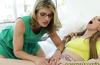 Mom seduces Daughter - 7:29