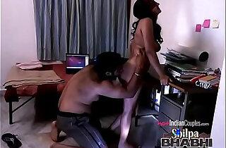 Shilpa Bhabhi Hardcore Indian Sex With Raghav Fucked On A Table - 2:25