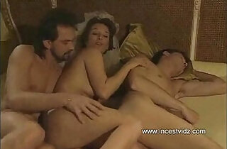 Mom tries to entice her son into threesome with her boyfriend - 13:30