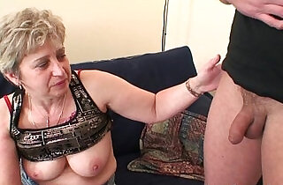 Nasty granny toying before double fuck - 6:01