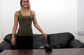 Fit Babe Assfucked n Creampie on Casting Couch - 13:52