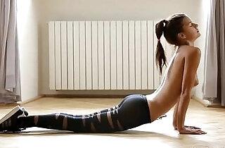 Pantyhose Yoga - 20:43