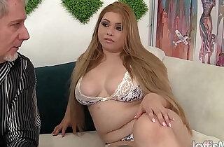 Sexy and horny Asian plumper Arianny Koda hardcore sex - 8:30