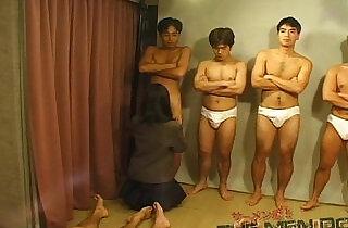 Bukkake Highschool Lesson Japanese blowjob - 12:55
