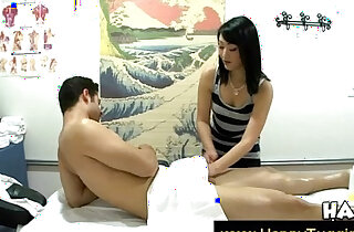 Asian masseuse shows her excitement - 7:21