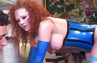 Audrey fucking in stockings and latex - 5:18