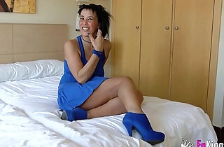 Horny real sluty Latina milf wants to taste young dick - 46:04