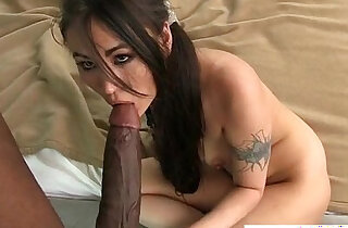 Interracial Asian doggy style and bj - 4:45