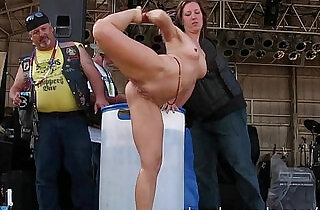 wet ultra hot iowa biker chicks naked in public - 23:16