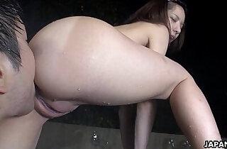 Cute Asian slut getting pussy finger fucked - 8:50
