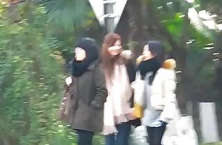 Chinese Girl Toilet Shanghai Metro City - 9:27