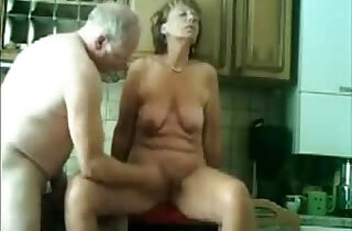 Stolen video of my gorgeous mom having fun with dad - 7:21