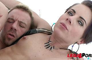 Sexy slut Sasha Zima double anal training first DAP - 1:43