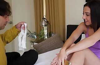 Stepdaughter With Daddy Fucks Her Stepdad On Fathers Day FILF - 12:09