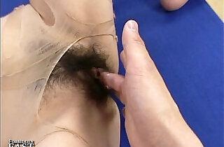 Uncensored Japanese Erotic Pantyhose Fetish Sex - 5:24
