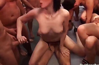extreme groupsex bukkake party - 13:12