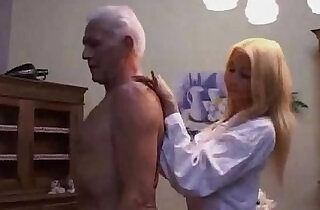 Hot Teen nurse seducing an Old patient - 12:46