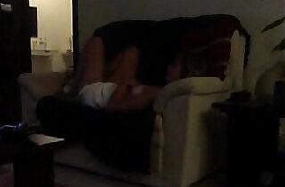 Sofa masturbation Mom caught on voyeur cam - 7:36