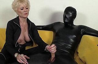 Dominant Granny Dominates Her Slave - 4:26